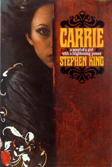 Primeira edição do livro Carrie (1974)