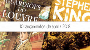 lançamentos de livros abril 2018